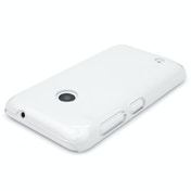 YouSave Accessories Nokia Lumia 530 Hard Case - Crystal Clear