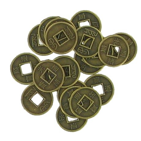 Feng Shui Chinese Medium Coin | Set of 20