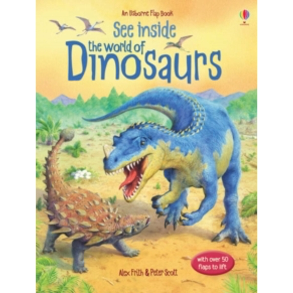 See Inside the World of Dinosaurs by Alex Frith (Board book, 2006)