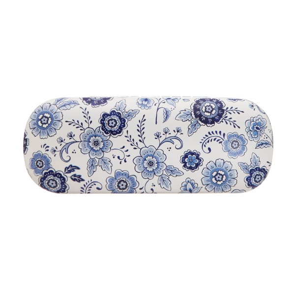 Sass & Belle Blue Willow Floral Glasses Case