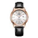 Rotary GS90196/01 Quartz Tradition Gents Straps PVD Rose Gold Watch