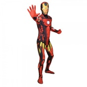 Marvel Iron Man Adult Costume Morphsuit XX Large