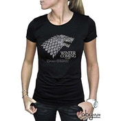 Game Of Thrones - Winter Is Coming Women's X-Large T-Shirt - Black