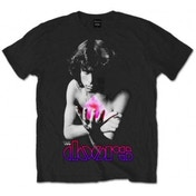 The Doors Psychadelic Jim Mens Black T Shirt: Medium