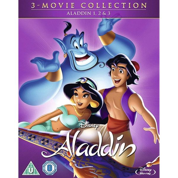 3 Movie Collection - Aladdin Trilogy Blu-ray