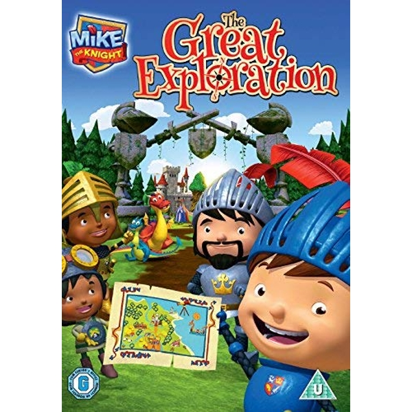 Mike The Knight: The Great Exploration DVD