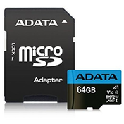 ADATA 64GB Premier Micro SDXC Card with SD Adapter