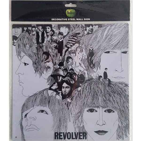 The Beatles Revolver Steel Wall Sign