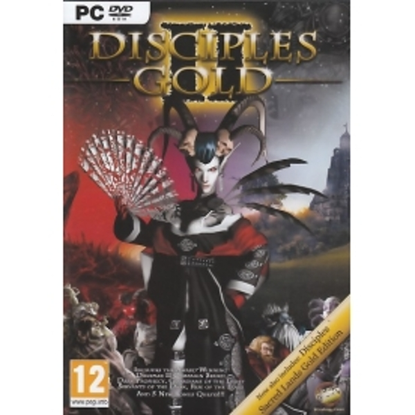 Disciples 2 Rise of The Elves Gold Game PC