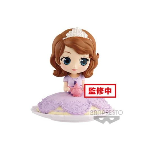 Sofia Milky Colour Version Disney Q Posket Mini Figure