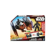 TIE Fighter And TIE Fighter Pilot Star Wars Hero Mashers Star Wars: The Force Awakens Vehicle