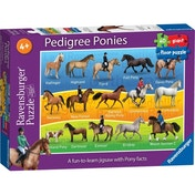 Pedigree Ponies Giant Floor 60 Piece Jigsaw Puzzle