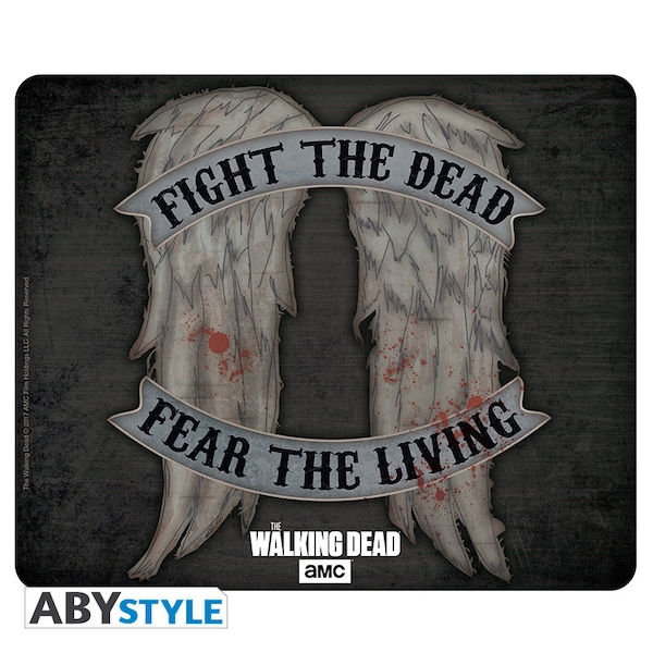 """Image of The Walking Dead - Daryl Wings"""" Mouse Mat"""