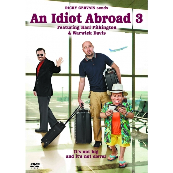 An Idiot Abroad Series 3 DVD