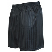 Precision Striped Continental Football Shorts 42-44 inch Black