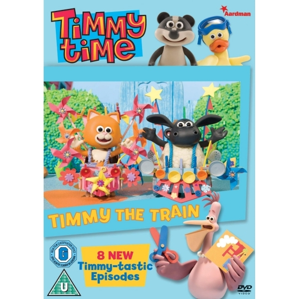 Timmy Time Timmy The Train DVD