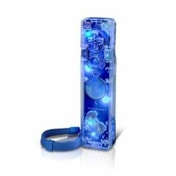 PDP Afterglow AW.1 Remote Controller Glows Blue Wii