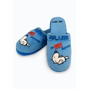 Mr Men & Little Miss - Mr Lazy Slippers UK Size 8-10