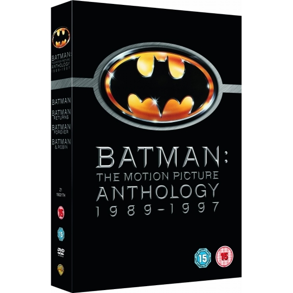 Batman The Motion Picture Anthology 1989 - 1997 Box Set DVD