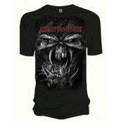 Iron Maiden Final Frontier Eddie Vintage Mens T Shirt: La