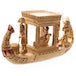 Gold Egyptian Canopy Boat - Image 2