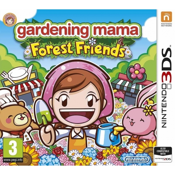 Gardening Mama 2 Forest Friends 3DS Game - Image 1