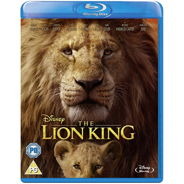 The Lion King (Live Action) Blu-ray