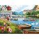 Falcon The Boating Lake  Jigsaw Puzzle - 1000 Pieces - Image 2
