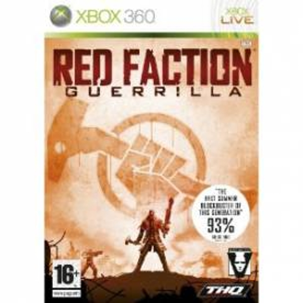 Red Faction Guerrilla Game Xbox 360 - Image 1