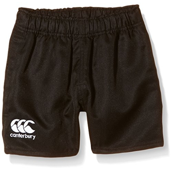 Canterbury Of New Zealand Boys Rugby Professional Polyester Shorts-Black, Size 8, 8