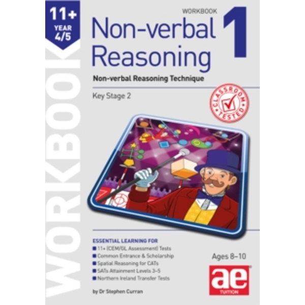 11+ Non-Verbal Reasoning Year 4/5 Workbook 1 : Non-Verbal Reasoning Technique: 2016 by Andrea F. Richardson (Paperback, 2016)