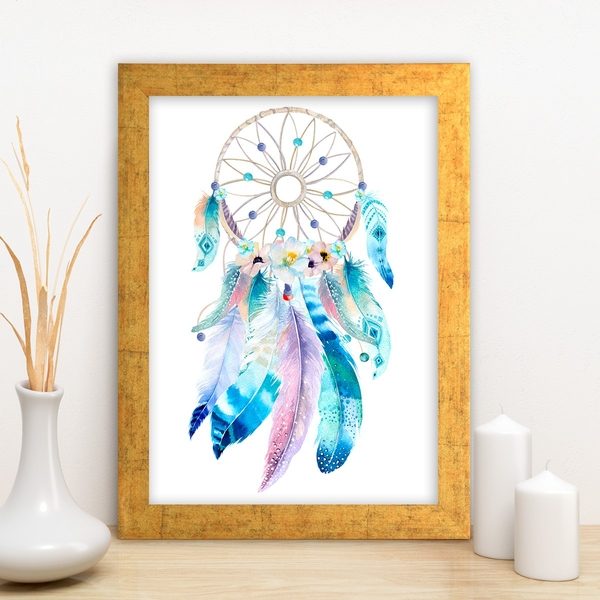AC5785768272 Multicolor Decorative Framed MDF Painting