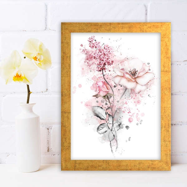 AC626979977 Multicolor Decorative Framed MDF Painting