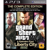 Grand Theft Auto IV 4 GTA Complete Edition Game PS3 (Greatest Hits) (#)