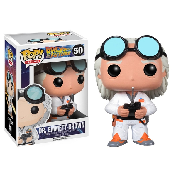 Doc Brown (Back to the Future) Funko Pop! Vinyl Figure