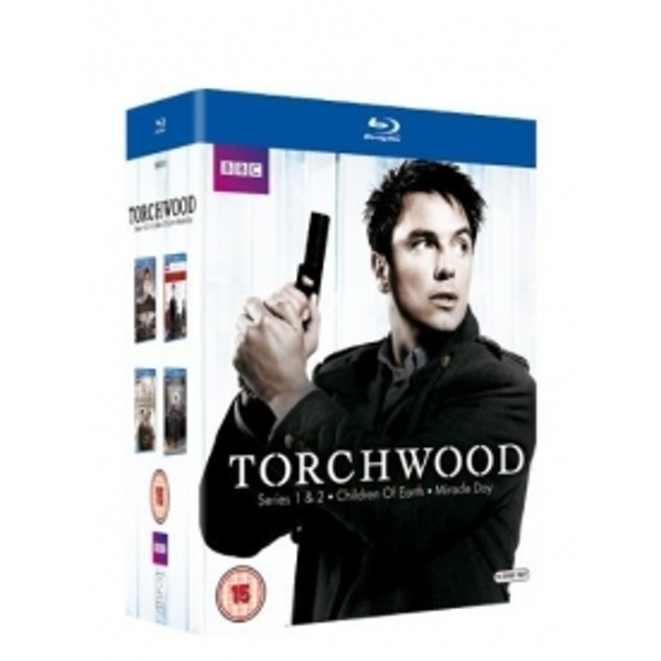 Torchwood Series 1-4 Box Set Blu-ray