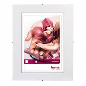 Clip-Fix Frameless Picture Holder Anti-reflective Glass (40x40cm)
