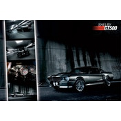 Ford Shelby Mustang GT500 Maxi Poster