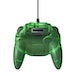 Forest Green Retro-Bit Tribute 64 Controller for Nintendo 64 - Image 3