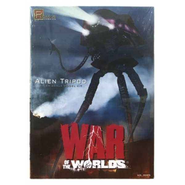 Alien Tripod 15In Tall Model Kit From War Of The World