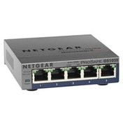 Netgear GS105PE Unmanaged L2 Gigabit Ethernet (10/100/1000) Power over Ethernet (PoE) Grey