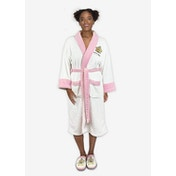 MMLM Little Miss Sparkle White Pink Ladies Robe