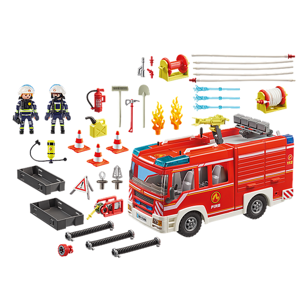 Playmobil City Action Fire Engine with Light and Sound