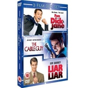 Jim Carrey 3 Film Box Set: Cable Guy   Fun With Dick And Jane   Liar Liar DVD