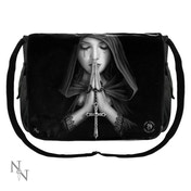 Gothic Prayer Messenger Bag