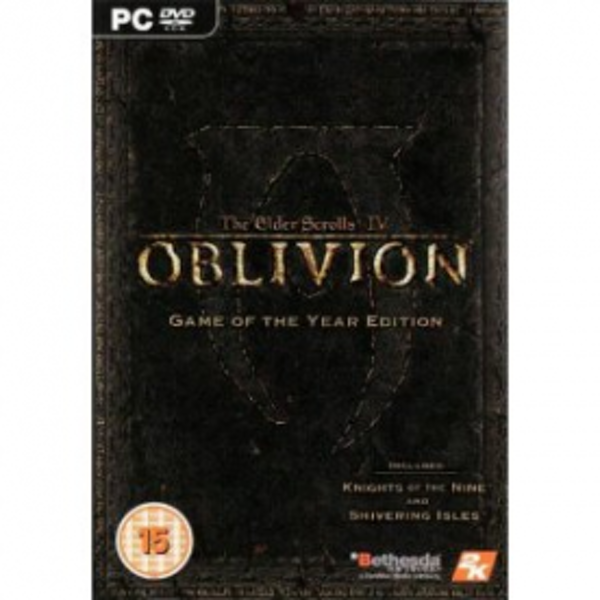 The Elder Scrolls IV 4 Oblivion Game Of The Year Edition (GOTY) Game PC