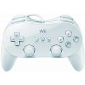 Official Nintendo Classic Controller Pro RVLAR2W Pad White Wii & Wii U