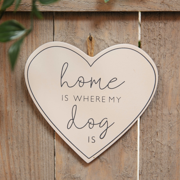Best of Breed Wooden Plaque - Where My Dog Is