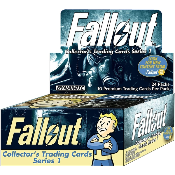 Fallout Trading Cards Series Counter Top Display (includes 24 Packs)