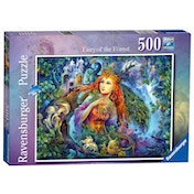 Ravensburger Fairyworld No.1 - Fairy of the Forest 500 Piece Jigsaw Puzzle